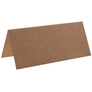 Marque place kraft 7 cm (lot de 10)