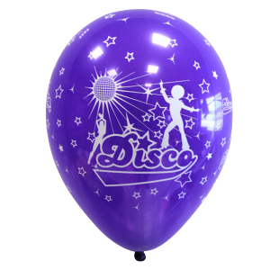 "Ballons ""Disco"" (lot de 8)"