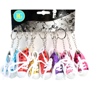 Porte clés basket brillante (lot de 12)