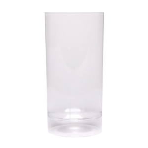 Verre à soda tube plastique transparent 20 cl ( lot...