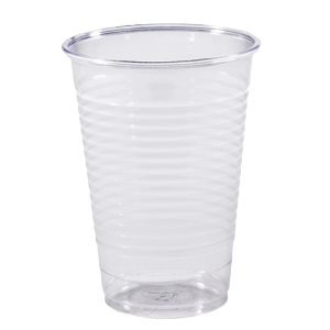 Gobelet plastique transparent 18-20 cl ( lot de 100 )
