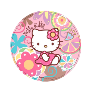 "Assiettes ronde ""Hello Kitty Bamboo"" (lot de 10)"