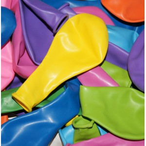 Ballons de tir (lot de 100) - Multicolore