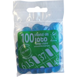 Pion plastique ( lot de 100 )