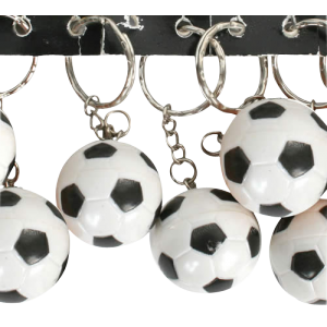 Porte-clés ballon (lot de 12)