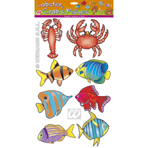 Poissons assorties (lot de 8)