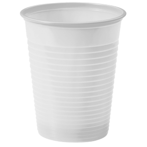 Gobelet plastique blanc 18-20 cl ( lot de 100 )