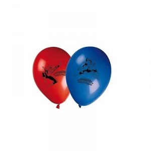 Ballons - Spiderman - 25 cm - lot de 8