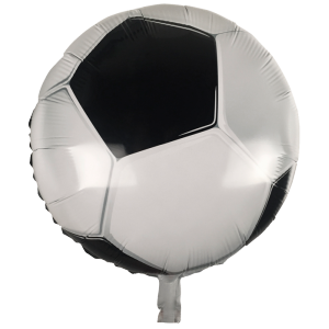 Ballon métallique Football - 45 cm