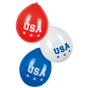 Ballons American Party (lot de 6)